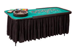 Roulette tables to play the ultimate game of chance.